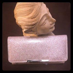 Handbags - Rose gold tri-fold wallet